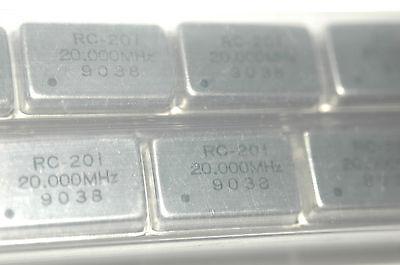 Rc Rc-201 20.000mhz Through Hole Crytal Oscilator New Lot Quantity-30