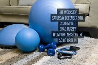 HIIT fitness class $5