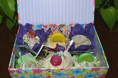 FREE DELIVERY OMAHA NE METRO AREA SB5 Artisan Soap JUMBO Cupcakes 6 PACK 3+lbs