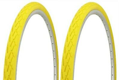 2 BICYCLE TIRES DURO 700 X 38C CITY CAVALIER ROAD FIXIE GEAR MTB CYCLING BIKES
