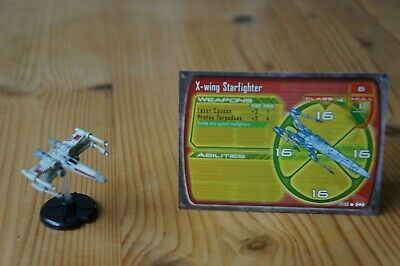 Star Wars Miniatures  - Starship Battles - X-wing Starfighter 27/60 27