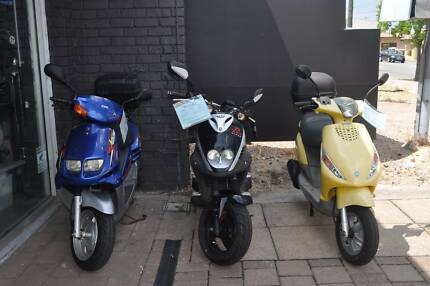 Used 50cc Scooters