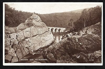 C. 1930s View of Soldier's Leap, Killiecrankie, Scotland