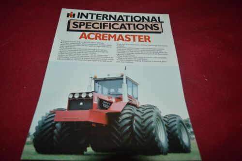 International Harvester 210 250 310 330 400 520 Tractor Brochure FCCA