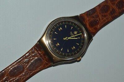 1992 Vintage Swatch Watch GX122 P.D.G. Unisex Swiss Quartz 34mm Plastic Original