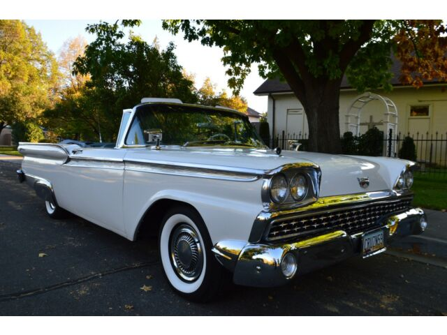 Beautiful 1959 Ford Fairlane 500 Galaxie Sunliner Convertible 352 V8 P S P B Used Ford Galaxie