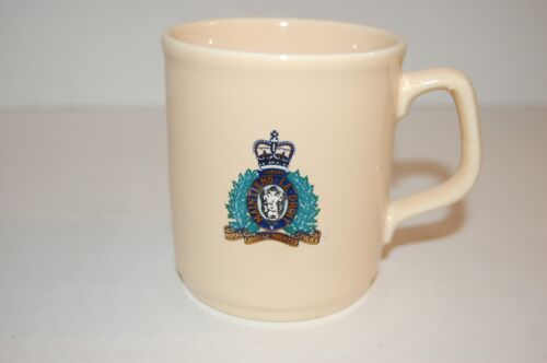 Vintage Royal Canadian Mounted Police (RCMP) Coffee Mug with Crest