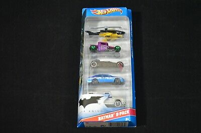 Hot Wheels 2010 Batman The Dark Knight 5 Pack Exclusive Joker Bone shaker