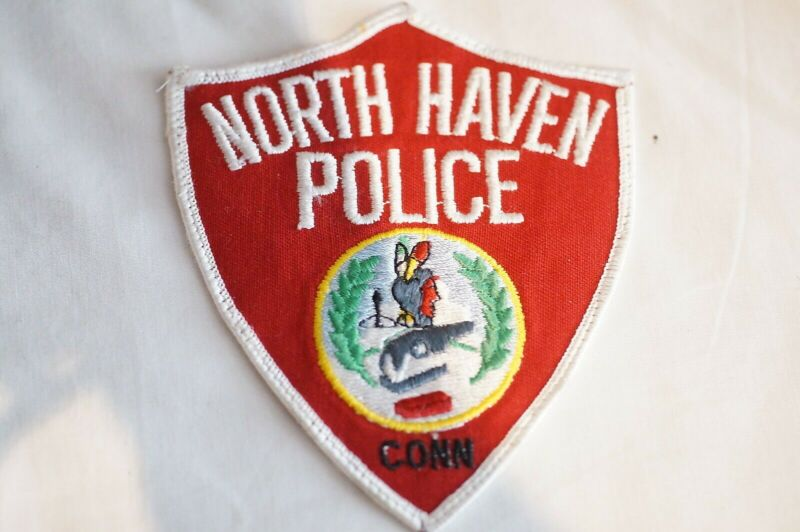 US North Haven Connecticut Police Patch