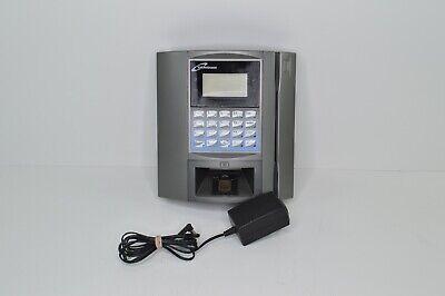 Accutime Maximus Mxs Time Attendance Time Clock Biometric Scanner Ceridian