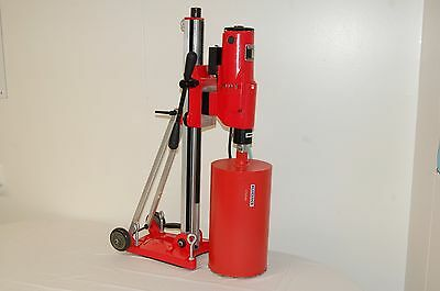 Bluerock Tools 12z1 Ts Concrete Core Drill 2 Speed W Tilting Stand