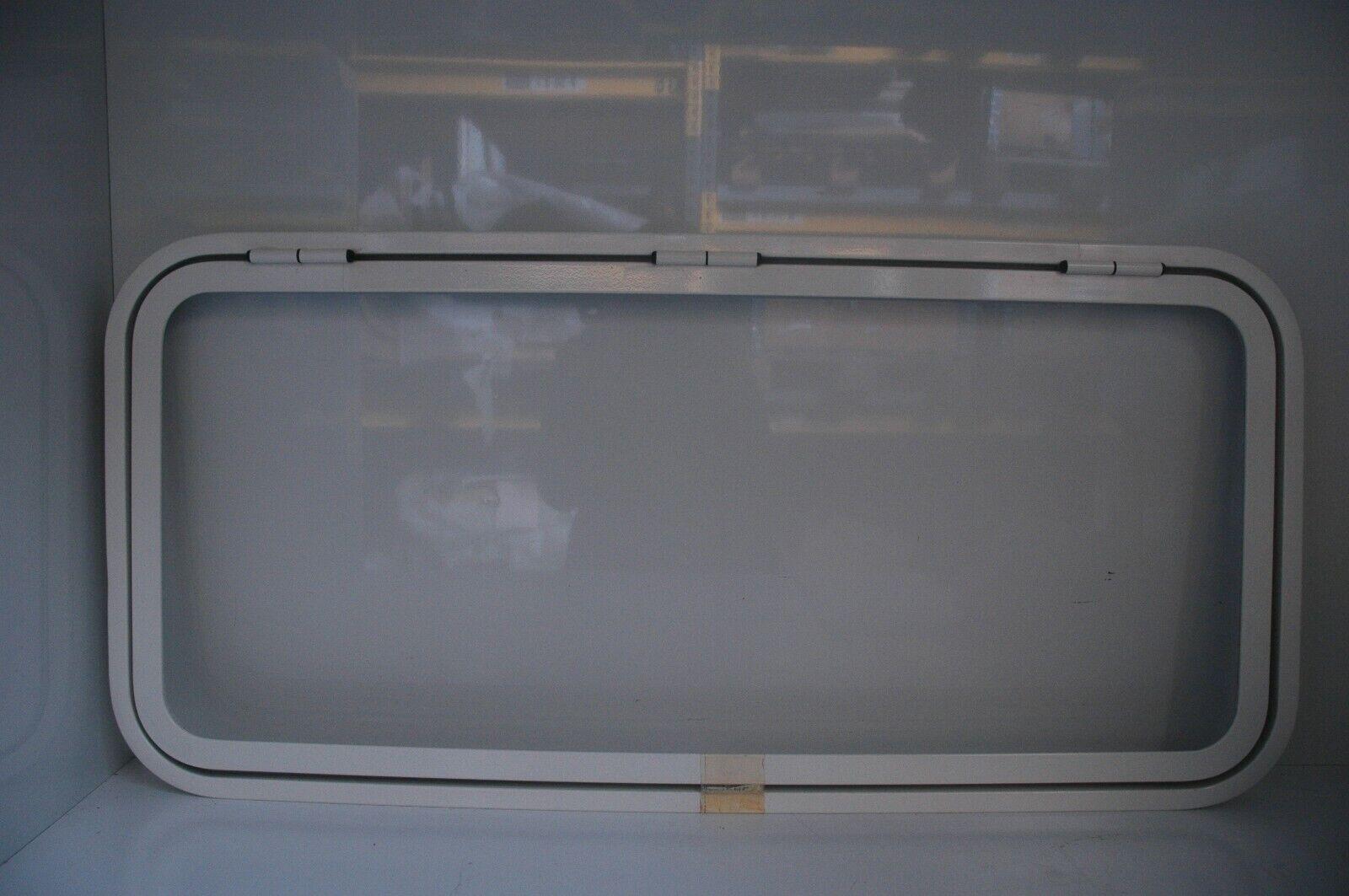 Klappenrahmen Serviceklappe 1000x460 mm weiß mit Dichtung