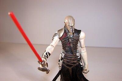 Star Wars Force Unleashed Galen Marek Sith Starkiller Figure Evolution Vintage
