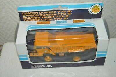 Camión Dumper 773B Caterpillar Joal Aluminio Fundido 1/70 Nuevo Caja 1980 223