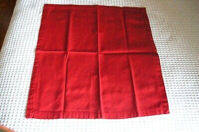 World Market Red Cloth Napkins--12 - Red Cloth Napkins