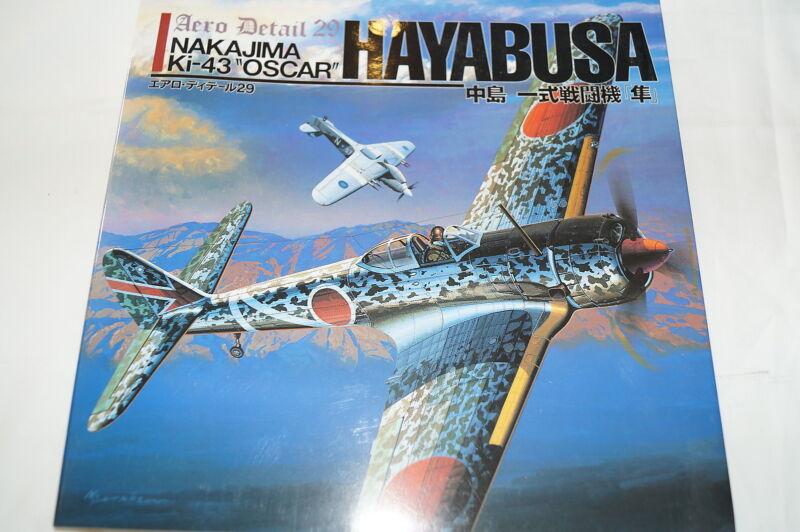 WW2 Japanese Nakajima K1-43 Oscar Hayabusa Fighter Aero Detail 29 Reference Book