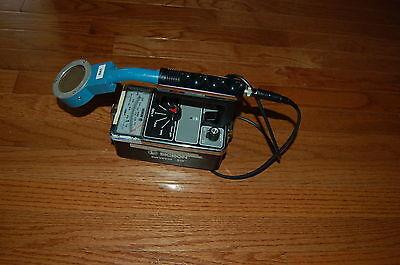 Thermo Surveyor Bicron 50 Survey Meter Geiger Counter Radiometer Probe Pancake
