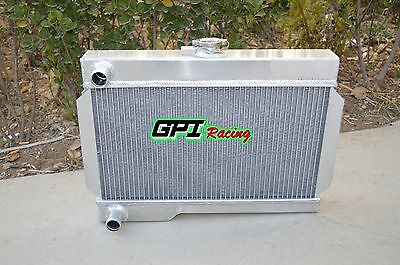 3 Core All Aluminum Radiator for ROVER MG MGB GT MT NIB
