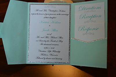 Custom Made Wedding Invites - Custom Made Invitations