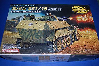 Dragon 6202 Sd.Kfz. 251/16 Ausf.C Flammpanzerwagen scala 1/35