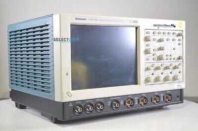 Tektronix Tds7104 1 Ghz 10gss 4 Ch. Oscilloscope W Serial Mask Testing Opt.