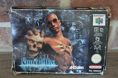 Jeu Game Shadow man en boite console Nintendo 64 N64 version PAL FAH