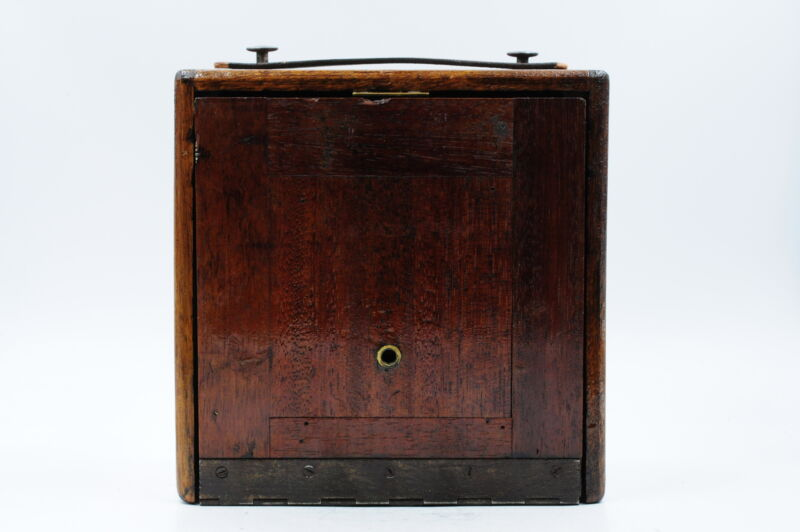 Montgomery Ward Majestic Wood Wooden 3x4 Field Camera With Lens #203