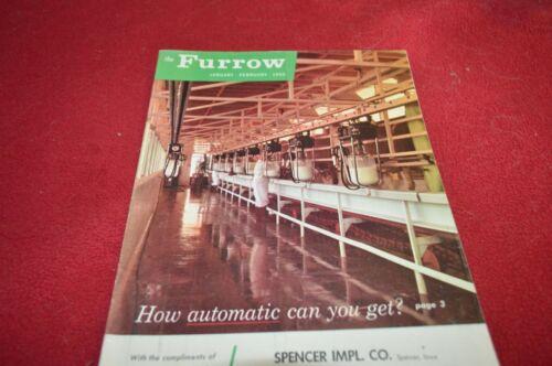 John Deere Furrow Magazine Jan Feb 1960 Dealer