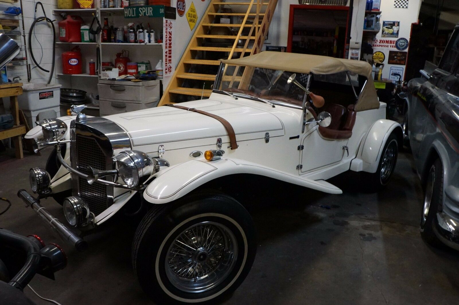 1929 Replica/Kit Makes  1929 Mercedes Gazelle Kit Car Replica