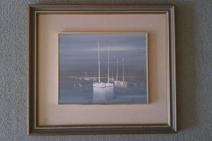 """""""Moorings"""" by Lilianne Nublat Hawthorn Mitcham Area Preview"""