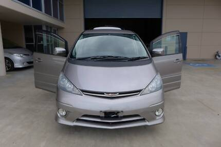 2004 Toyota Estima ACR30 Aeras 7st new leather Interior 2.4L GPS