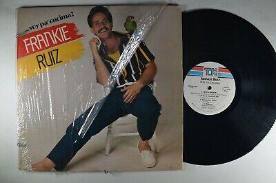 FRANKIE RUIZ Voy Pa'encima LATIN LP Shrink