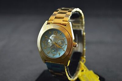 Invicta Angel Multi-Function Light Blue Dial Ladies Watch 23753