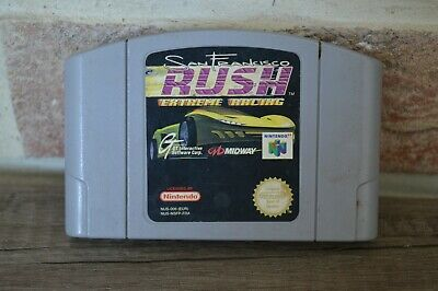Jeu Game Rush San Francisco Extreme pour console Nintendo 64 N64 version PAL FRA