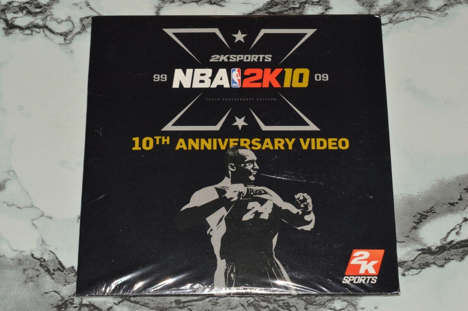 NEW - 2K Sports - NBA 2K10 - 10th Anniversary Video PC Game  - $11.93