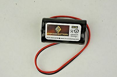 Emergency Exit Lighting Battery 3.6v 1000mah Replaces Lowes 25377 Unitech 6200rp