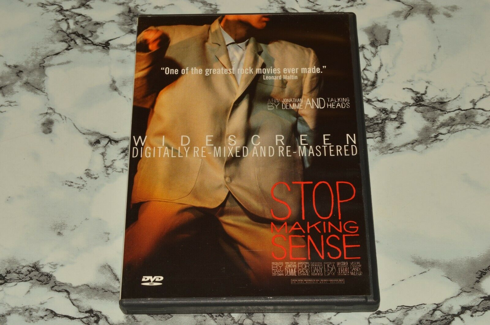 Stop Making Sense - Widescreen DVD -- Jonathan Demme Talking Heads - $12.68
