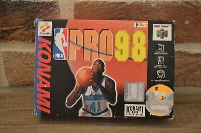 Jeu Rare NBA PRO 98 en boite console Nintendo 64 N64 version PAL Kobe Bryant