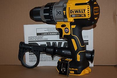 Brand New DEWALT DCD996  20V MAX  XR Lithium Ion Brushless 3-Speed Hammer drill