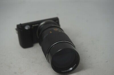 SONY E MOUNT ADAPTED PHOTAX-PARAGON 200mm 3.5 PRIME LENS ALL A7 NEX,A6000