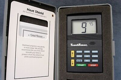TEACHTIMER CLASSROOM & OVERHEAD PROJECTOR TIMER IN BOX - FREE USA SHIP - Class Room Timer