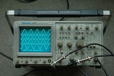 Tektronix 2465 300 Mhz Oscilloscope Calibrated Sn B021605