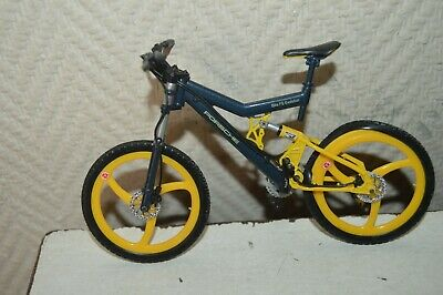 Miniatura Bicicleta Metal Porsche Bike FS Evolution 1/10 Welly MTB / Mountain