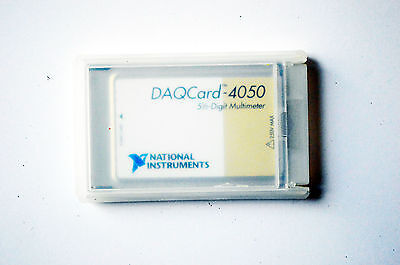 National Instruments Ni Pcmcia-4050 5.5 Digit Multimeter Ni Dmm Daqcard-4050