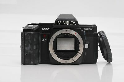 Minolta Maxxum 7000 SLR Film Camera Body                        -