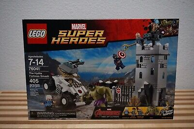 LEGO MARVEL SUPER HEROES 76041 THE HYDRA FORTRESS SMASH NEW SEALED BOX