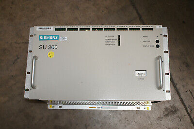 Siemens Su200 Distributed Io Unit For Mc-based Substation Control Systems