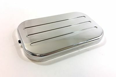 1988 and Up Polished Billet Aluminum GM Truck Master Cylinder Cap Cover Only