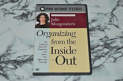 Julie Morgenstern -- Organizing From The Inside Out (DVD, 2004)