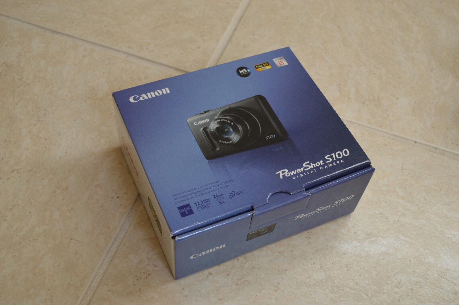 Canon PowerShot S100  from eBay
